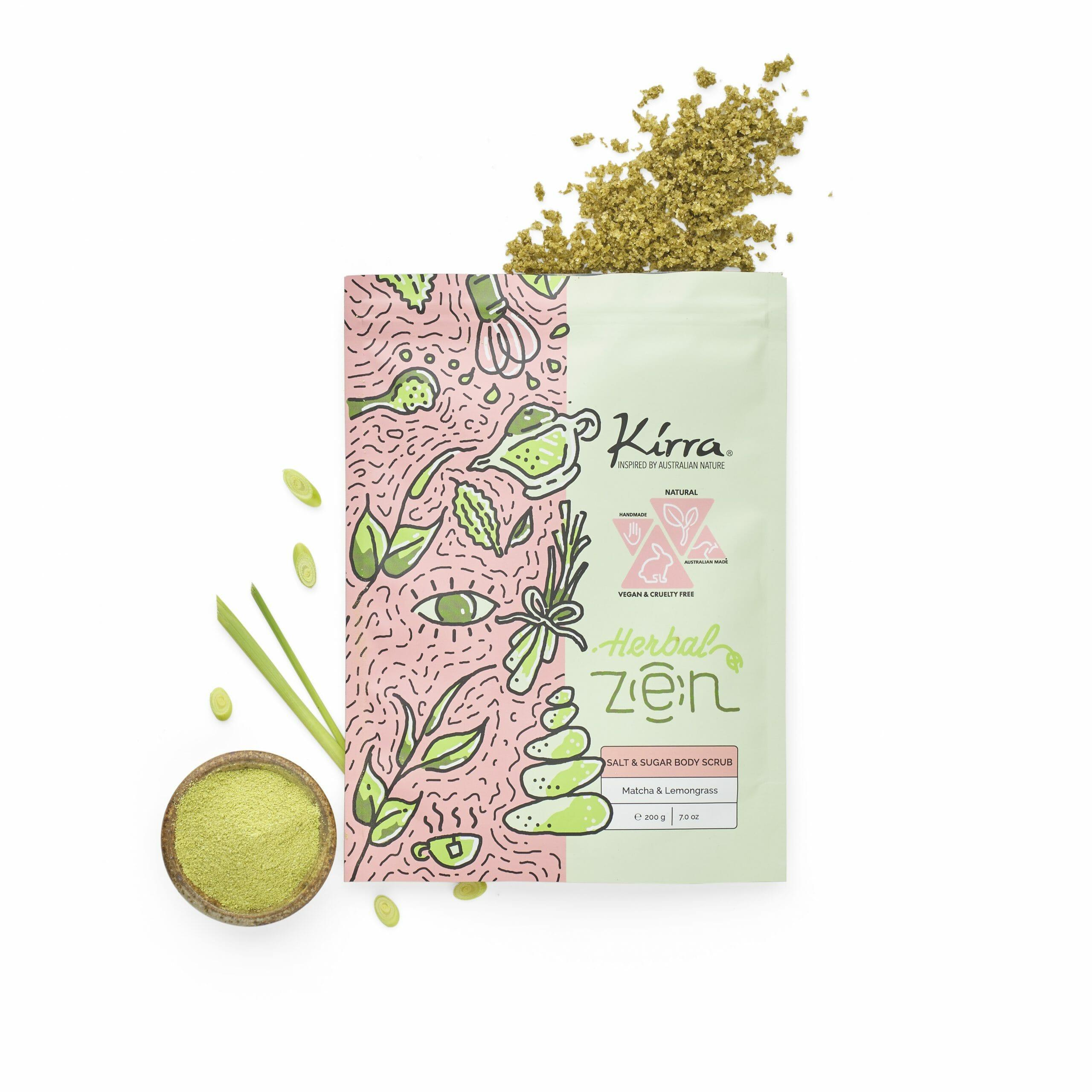Herbal Zen Budy Scrub