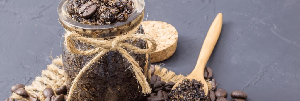 Coffee Body Scrub in Jar